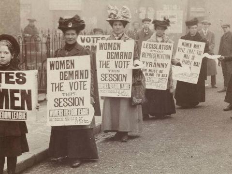 Centenary of the Women's vote in London