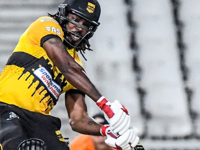 Gayle's Mzansi Super League stint cut short