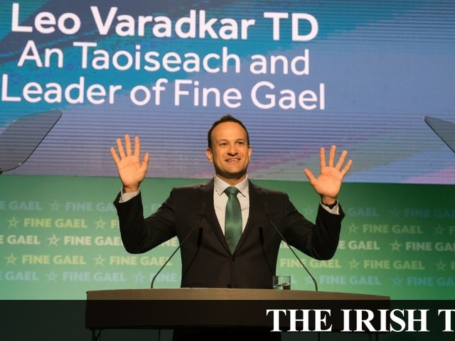 Miriam Lord: Wild weekend in Wexford as Fine Gael party meets hen party