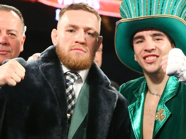 Conor McGregor claims Floyd Mayweather bout is 'very close to being inked' in X-rated rant at boxing king
