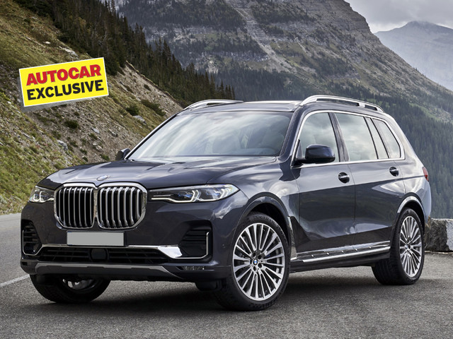 BMW X7 M50d India launch on January 31, 2019