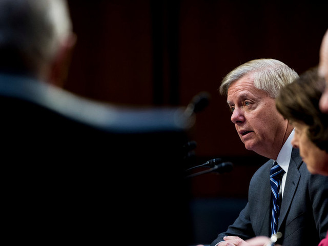 Graham Vows to Investigate Whether 'Bureaucratic Coup' Tried to Oust Trump