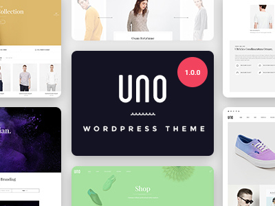 UNO - Multi Store Responsive WordPress Theme (Retail)