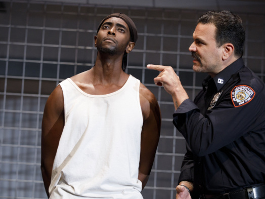 Off Broadway Review: 'Jesus Hopped the A Train'