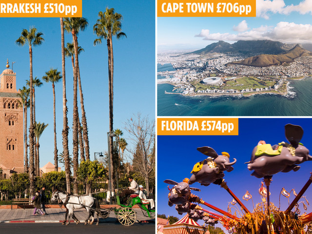 Best summer 2020 family holidays deals to book now including Florida, Cancun and Cape Town