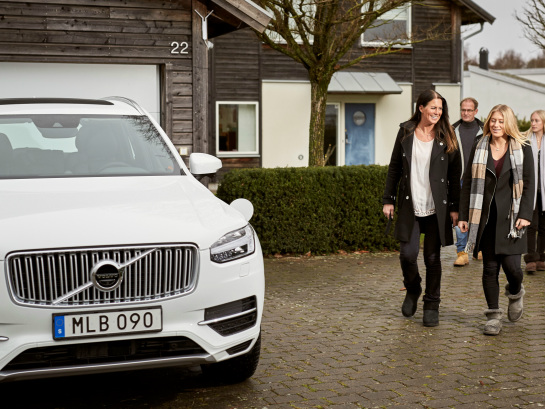 Volvo's Drive Me Initiative Now Live using Swedish Families as Beta Testers