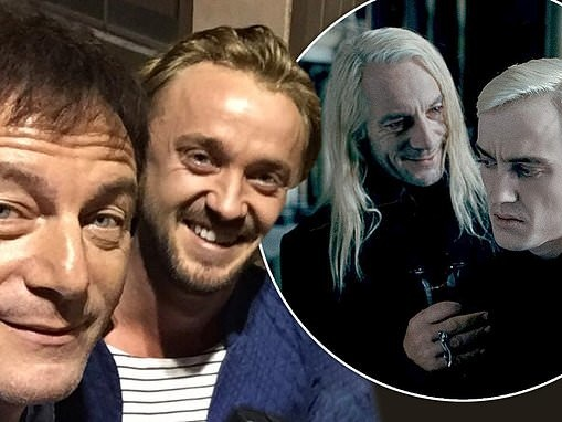 Harry Potter star Jason Isaacs shares sweet birthday tribute to on-screen son Tom Felton