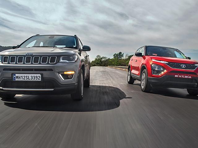 Review: Tata Harrier vs Jeep Compass automatic comparison