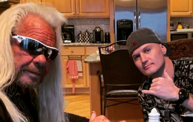 Son of Dog the Bounty Hunter's new girlfriend arrested for SECOND time in a week for being a 'fugitive from justice'