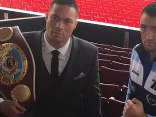 Heavyweight champ Parker hits the road to boost profile