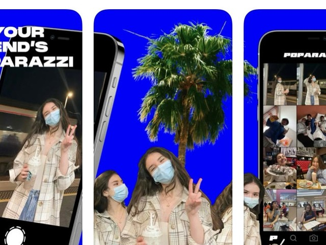 A photo app that bans selfies is blowing up online. Here's how Poparazzi works.
