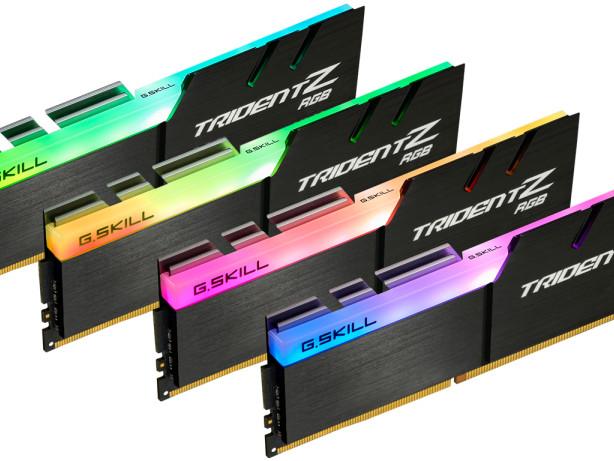 G.Skill breaks 4x8GB RGB DDR4 speed record with 4,266MHz kit