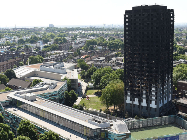 Grenfell Fire: Police Say There Are Grounds For Corporate Manslaughter Charges Against Council