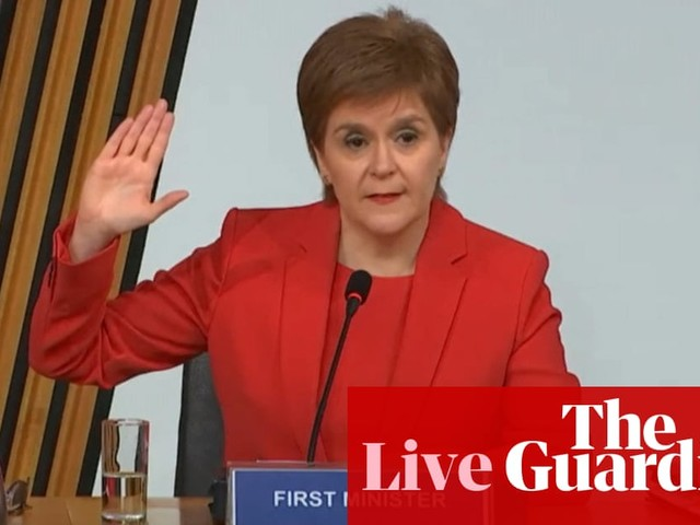 Nicola Sturgeon gives evidence to Alex Salmond inquiry amid calls to resign - live updates