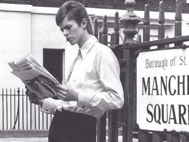 In Photos: David Bowie's London