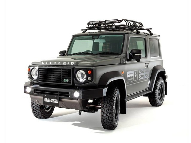 How to turn your Suzuki Jimny into a Bronco, G-Wagen or Defender