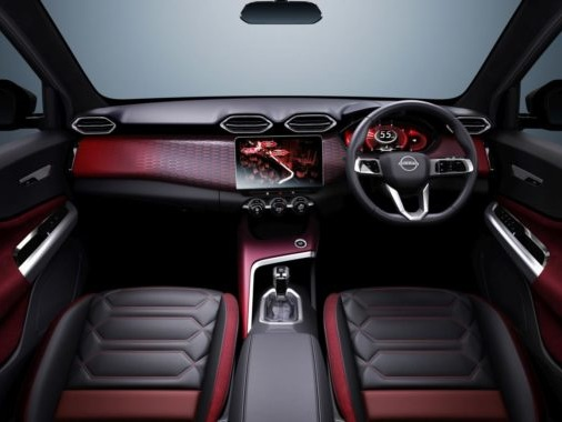 Nissan India Reveals Interior Images Of The Magnite Compact SUV Concept