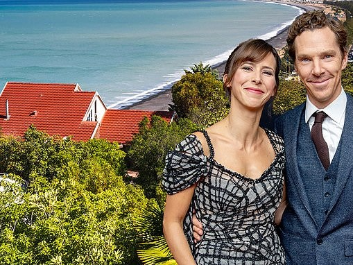 Benedict Cumberbatch is isolating with his family at a luxury £1,700-a-night New Zealand lodge