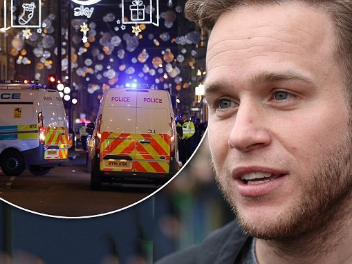 Olly Murs tweets confusion over Oxford Street 'gunshots'