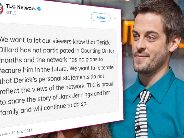 TLC Cuts Ties With Derick Dillard After His Jazz Jennings Controversy