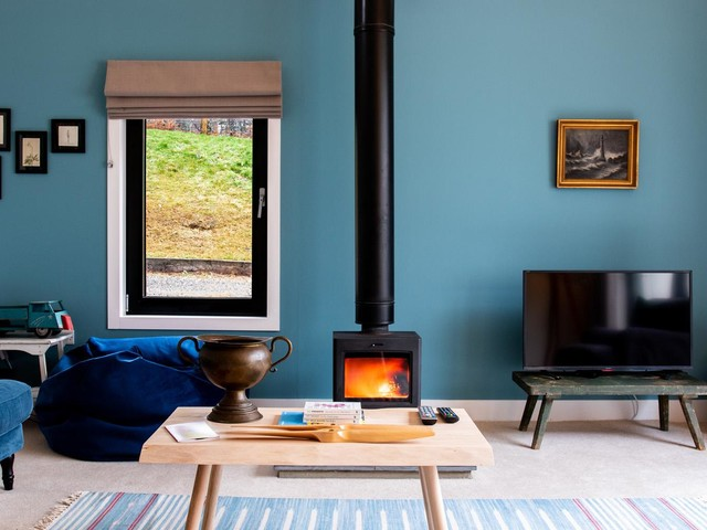 Cool stay of the week: a very modern cottage in the Scottish Highlands