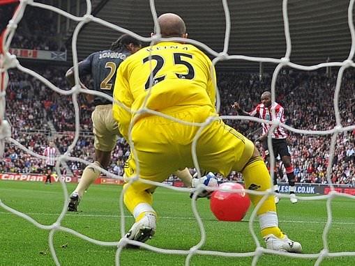 Ten years on from Darren Bent's 'beach ball' strike against Liverpool