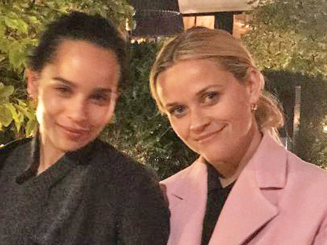 Zoe Kravitz & Reese Witherspoon Have a 'Big Little Lies' Reunion in London!