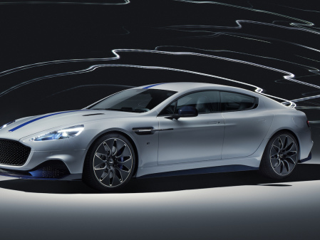 Aston Martin reveals production-ready Rapide E EV at Shanghai