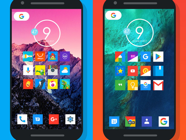 Grab a bunch of premium Android icon packs, now free for a limited time on Google Play!