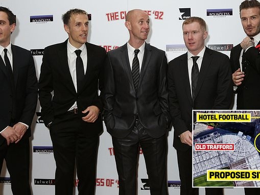 Manchester United news: Club look to build food kiosk just YARDS away from Class of 92 hotel