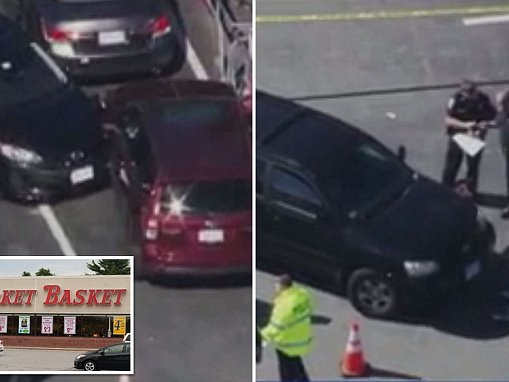 Woman crushed to death by her own SUV outside supermarket