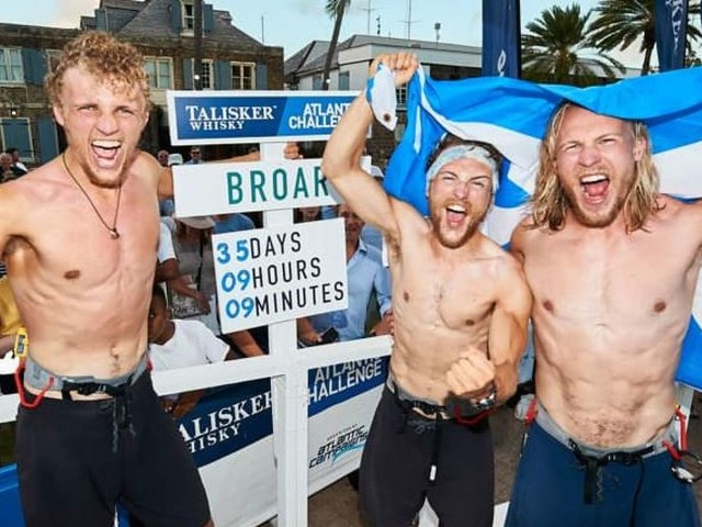 3000 miles in 35 days - British brothers set Atlantic rowing record