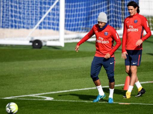 Tensions between Neymar, Cavani 'normal' says PSG coach
