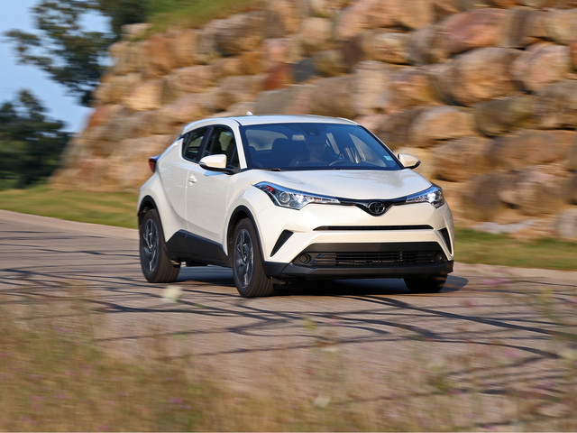 2018 Toyota C-HR in Depth: Late to the Party, Nearly Empty Handed