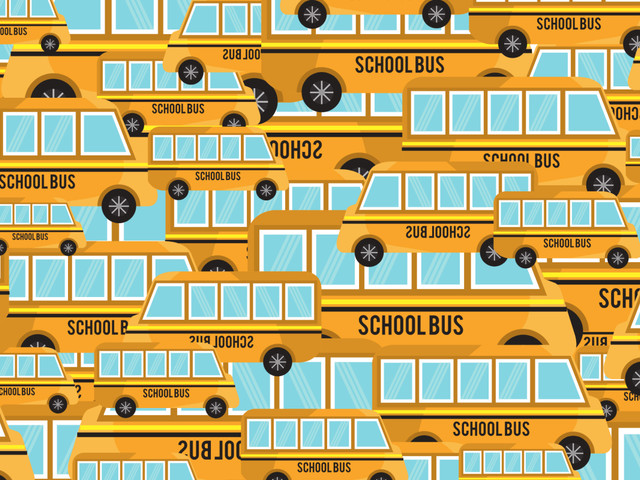 Tricky brain teaser challenges you to find the pencil between school buses in under 38 seconds – can you spot it?