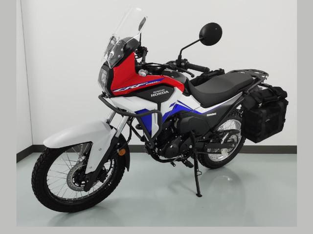 2021 Honda CRF190L details surface