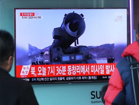 N. Korea missiles 'drill for strike on US bases in Japan'