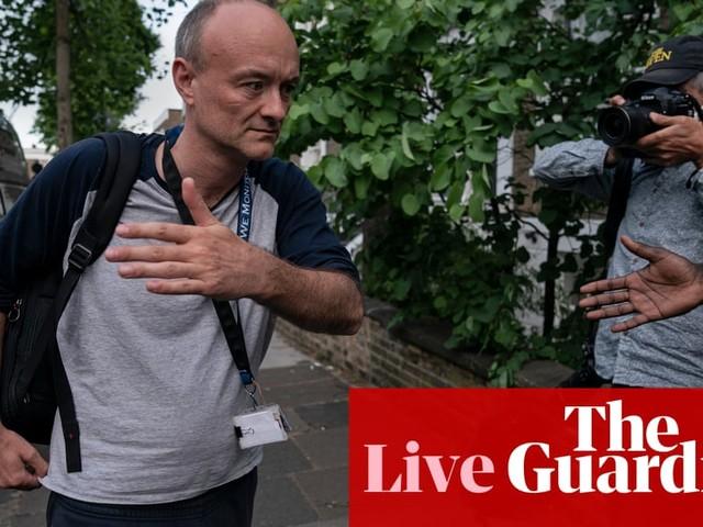 UK coronavirus live: Tory revolt continues to build over Dominic Cummings' lockdown trip