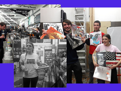 Record Shopping with POZI at Rough Trade East