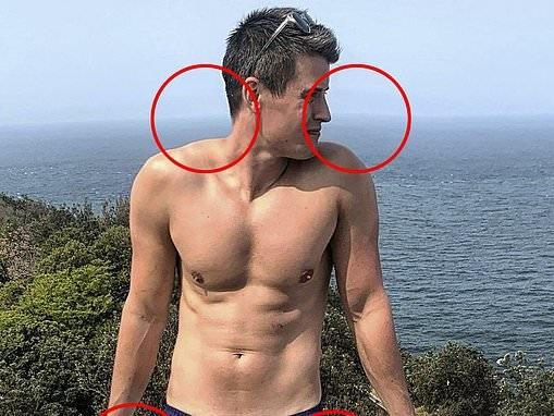 Bachelor In Paradise's Bill Goldsmith suffers an unfortunate Photoshop fail