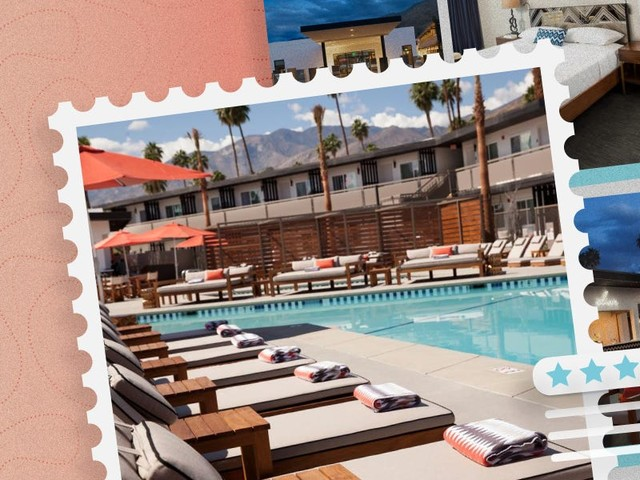 Hotel review: The V Palm Springs is a design-forward boutique hotel you can book for under $100 a night — even on a holiday
