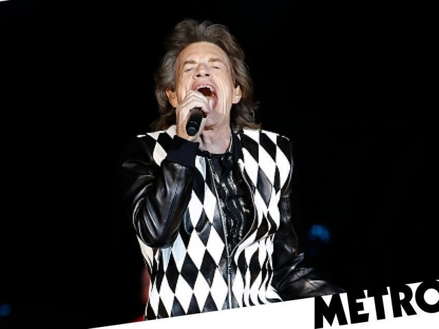 Mick Jagger returns to stage with Rolling Stones for first time since heart surgery