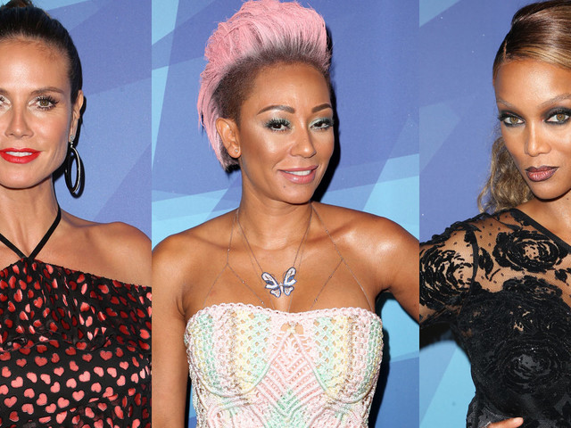 Heidi Klum, Mel B & Tyra Banks Step Out In Style for 'America's Got Talent' Quarterfinals!