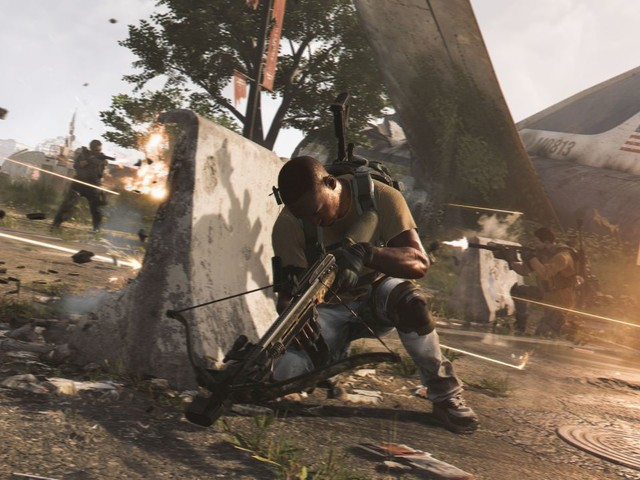 The Division 2 map features glitched steps that can help or hinder you