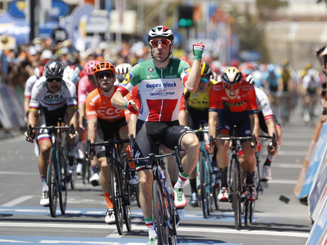 Viviani sprints to opening stage win at Tour Down Under