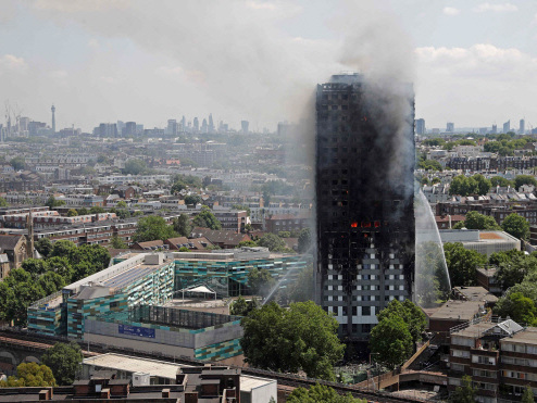 Survivors traumatised six months after London tower blaze