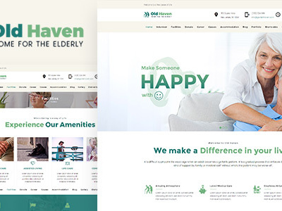 Old Haven | Theme for Old Age Home (Miscellaneous)