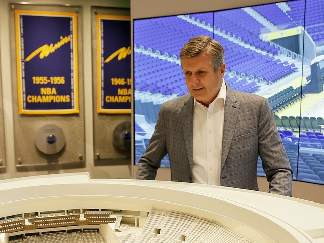 Warriors president Rick Welts explains why their new, $1.4 billion, self-financed stadium was a perfect storm other teams can't replicate