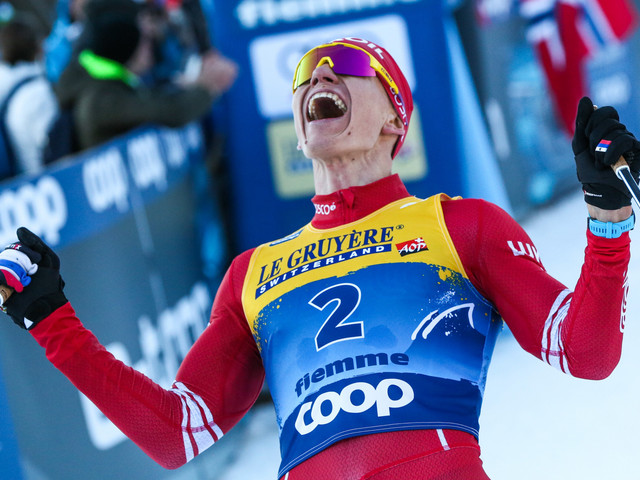 Bolshunov and Johaug victorious again at FIS Cross-Country World Cup in Nové Město