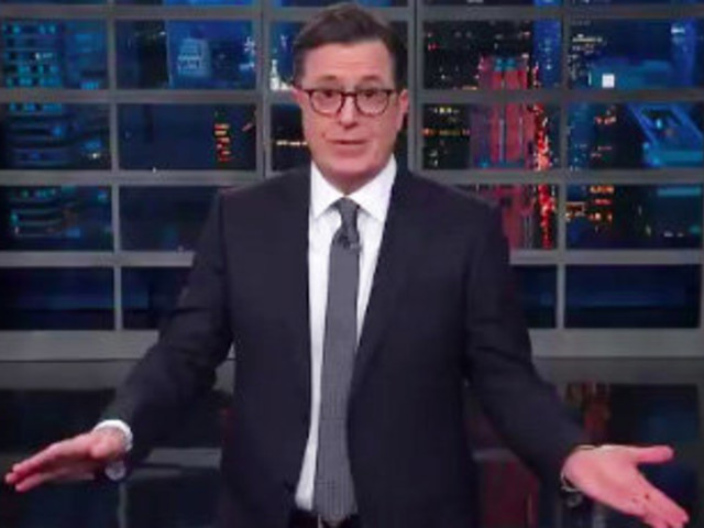 Stephen Colbert Has 1 Simple Piece Of Thanksgiving Advice